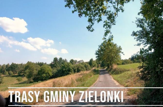 Widok naZielonki – digitalizacja rowerowych tras turystycznych wgminie Zielonki